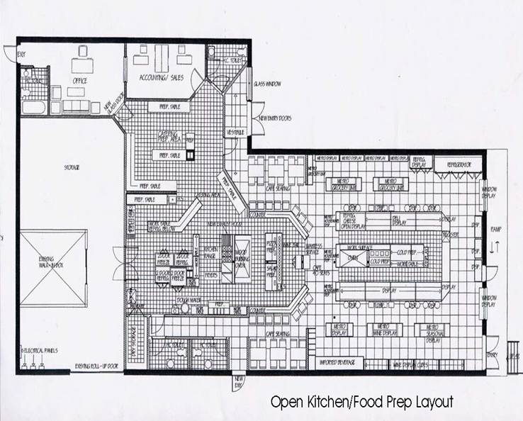 Italian Restaurant Kitchen Floor Plans